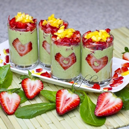 Strawberry Greensmoothie