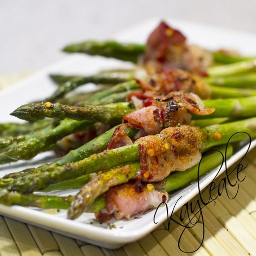 Flavorgod Bacon Wrapped Asparagus