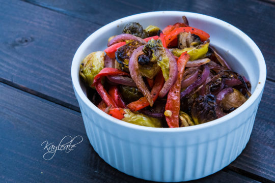 Cover Healthy and Delicious Balsamic Roasted Brussels Sprouts