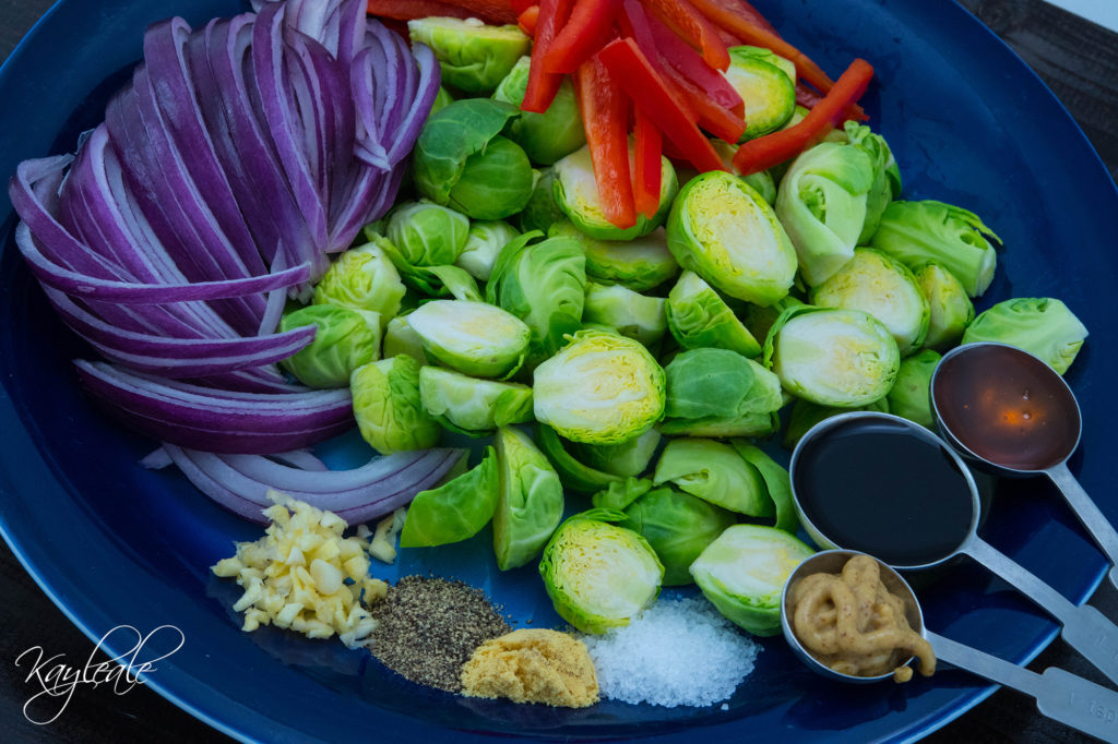 Ingredients Healthy and Delicious Balsamic Roasted Brussels Sprouts