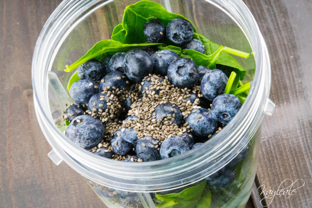 Quick Boost Your Detox with this Yummy Smoothie! Close Up